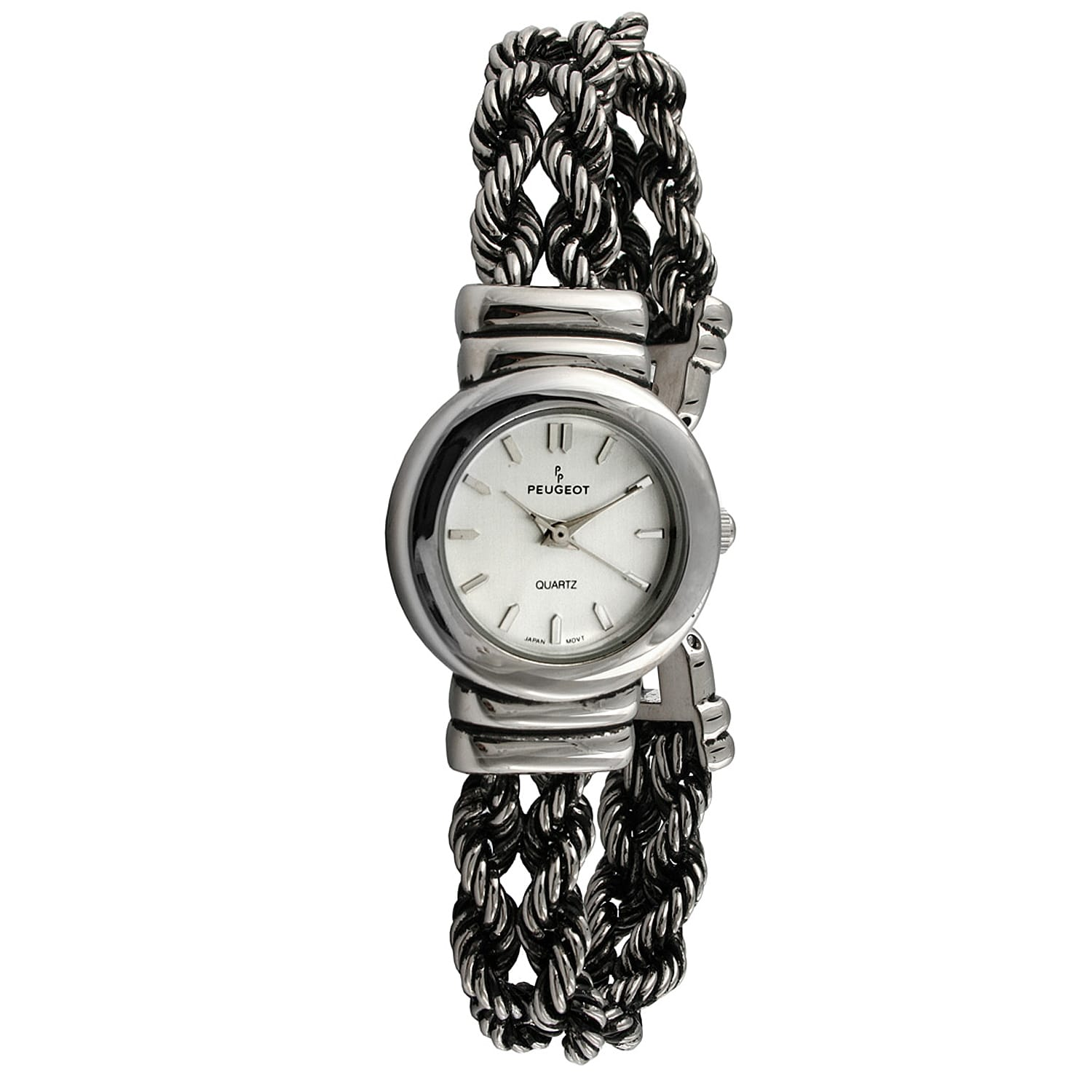 Peugeot Women's Antique Twice Braided Watch