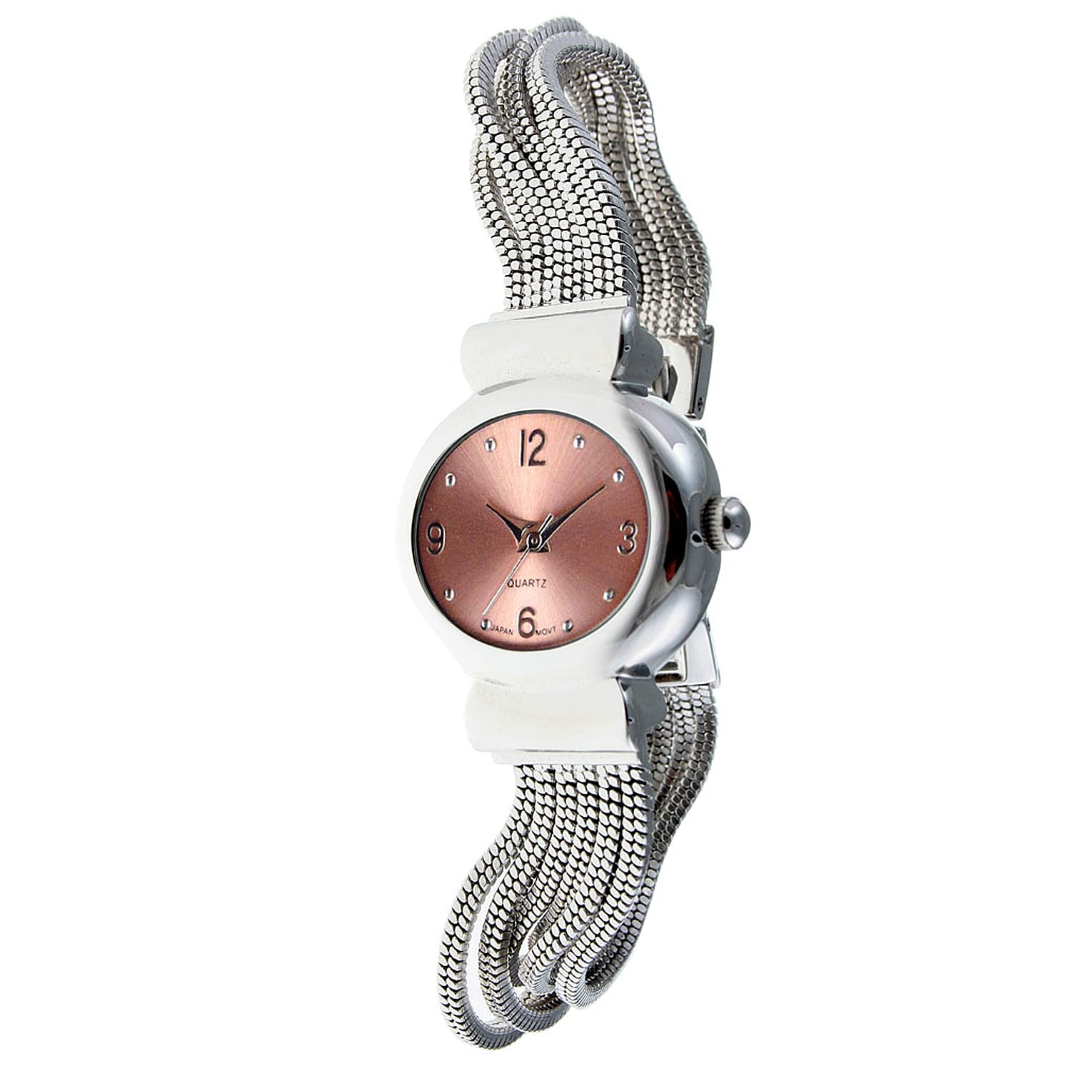 Peugeot Women's Pink Dial Watch