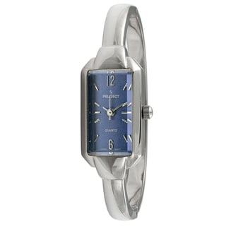 Peugeot Women's Vintage Blue Dial Bangle Watch