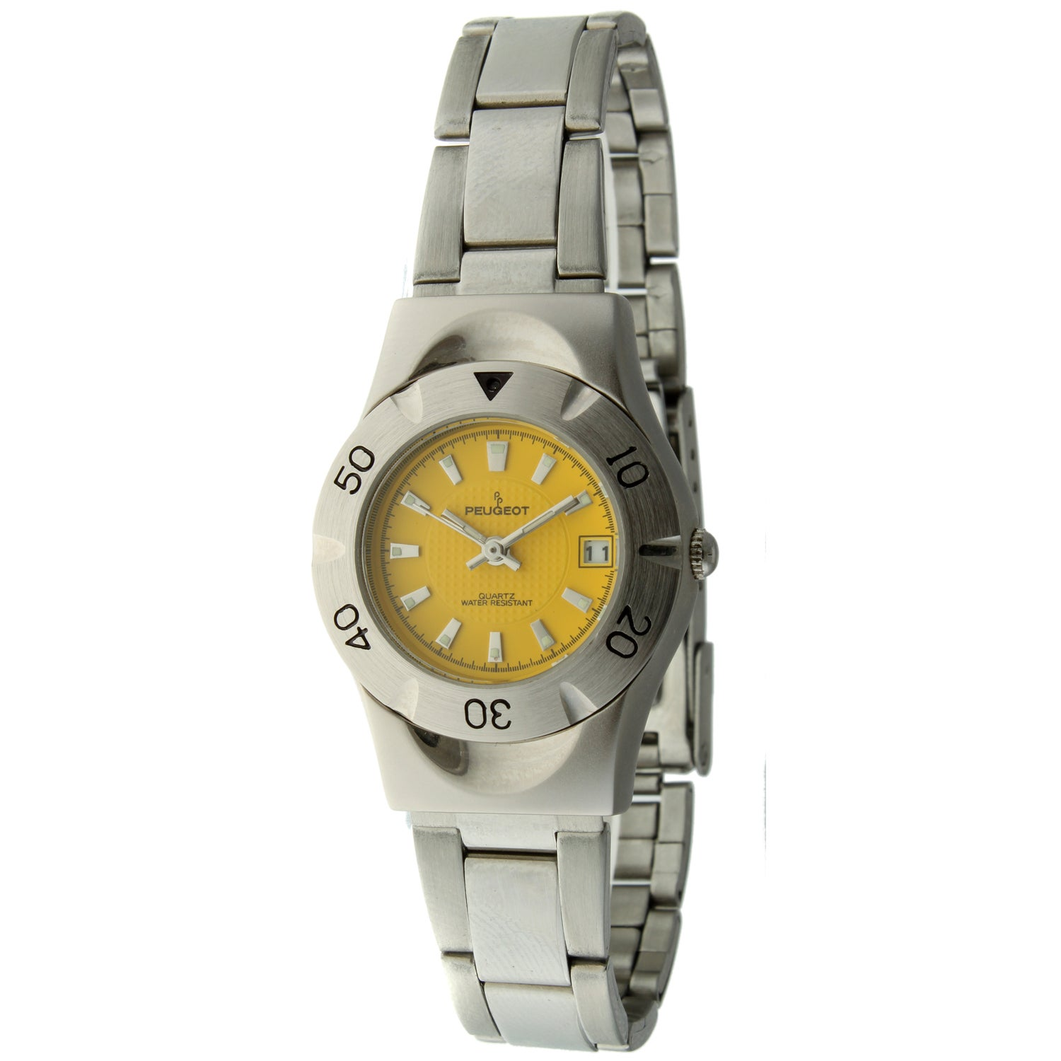 Peugeot Women's Yellow Dial Sport Watch