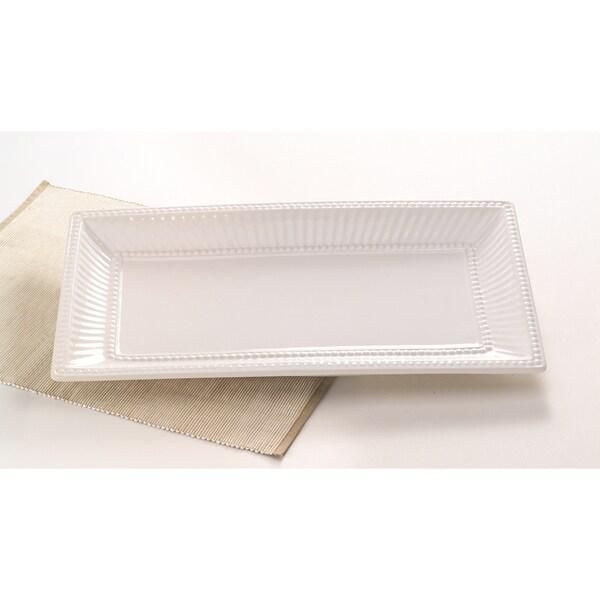 Classic Italian 18-inch Rectangle Serving Platter