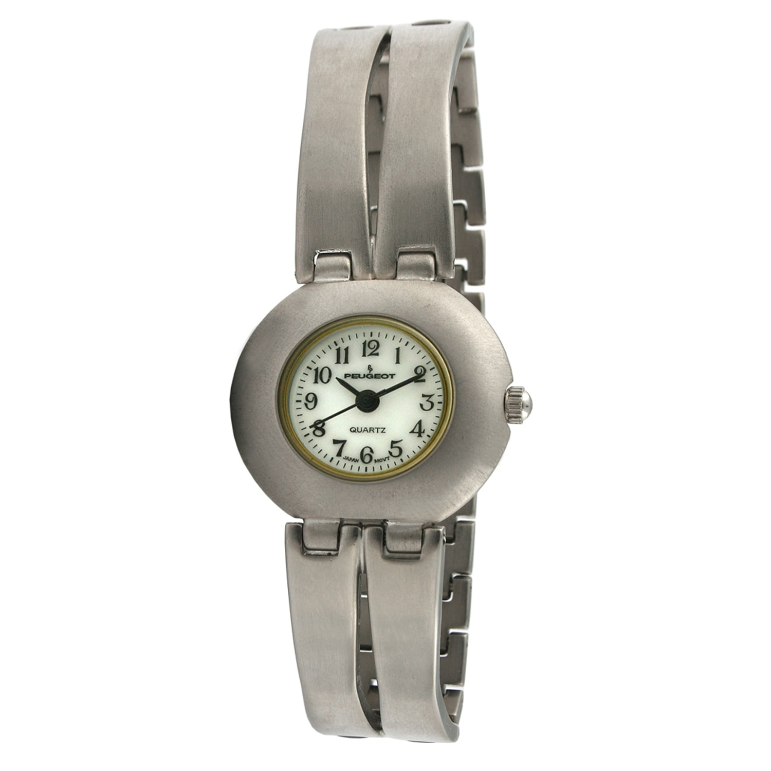 Peugeot Women's Vintage Double Bar Bracelet Watch