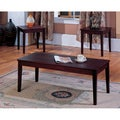 K&B 3-piece Cocktail End Tables Set