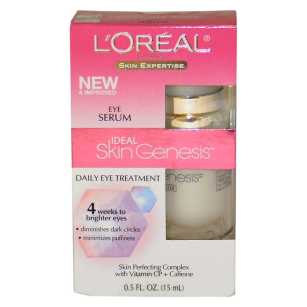 Skin Genesis Daily Eye Treatment Eye Serum by L'Oreal for Women 0.5-ounce Treatment