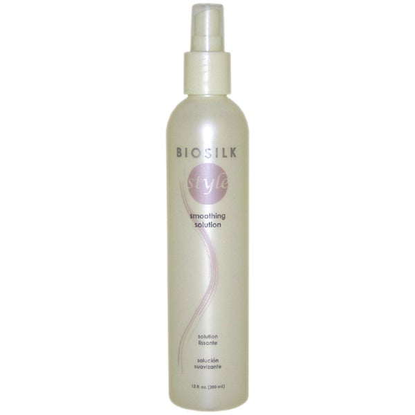 Smoothing Solution by Biosilk for 12-ounce Anti-Frizz