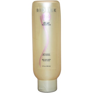 Silk Gel Medium Hold by Biosilk 6-ounce Gel