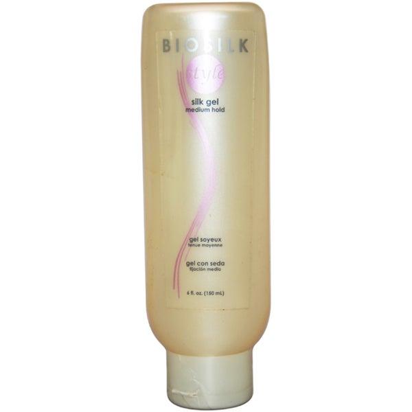 Silk Gel Medium Hold by Biosilk 6-ounce Gel