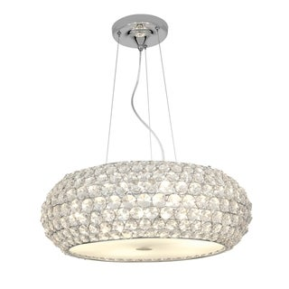 Access Kristal 6-light Chrome Pendant Fixture