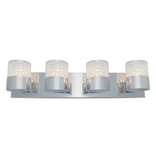 Access Kristal 4-light Chrome Wall Sconce