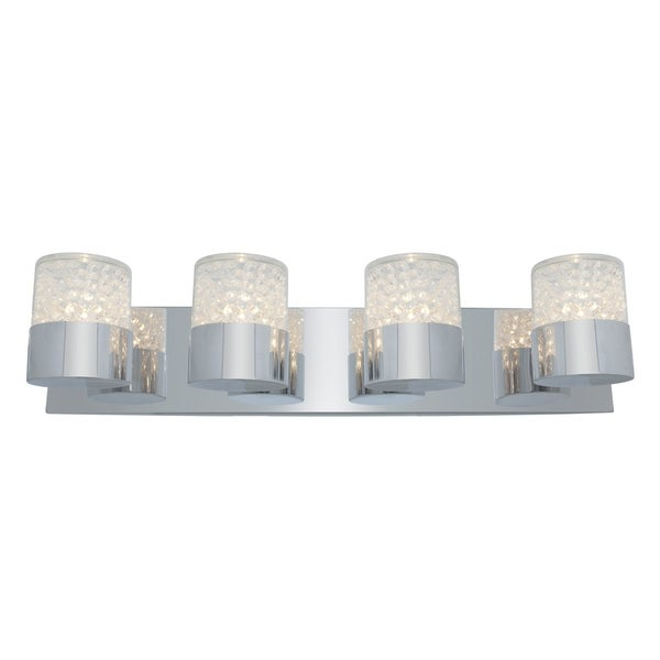Access Kristal 4-light Chrome Wall Sconce