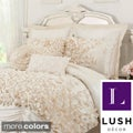 L'Amour Eternel Lucia 4-piece Contemporary Comforter Set
