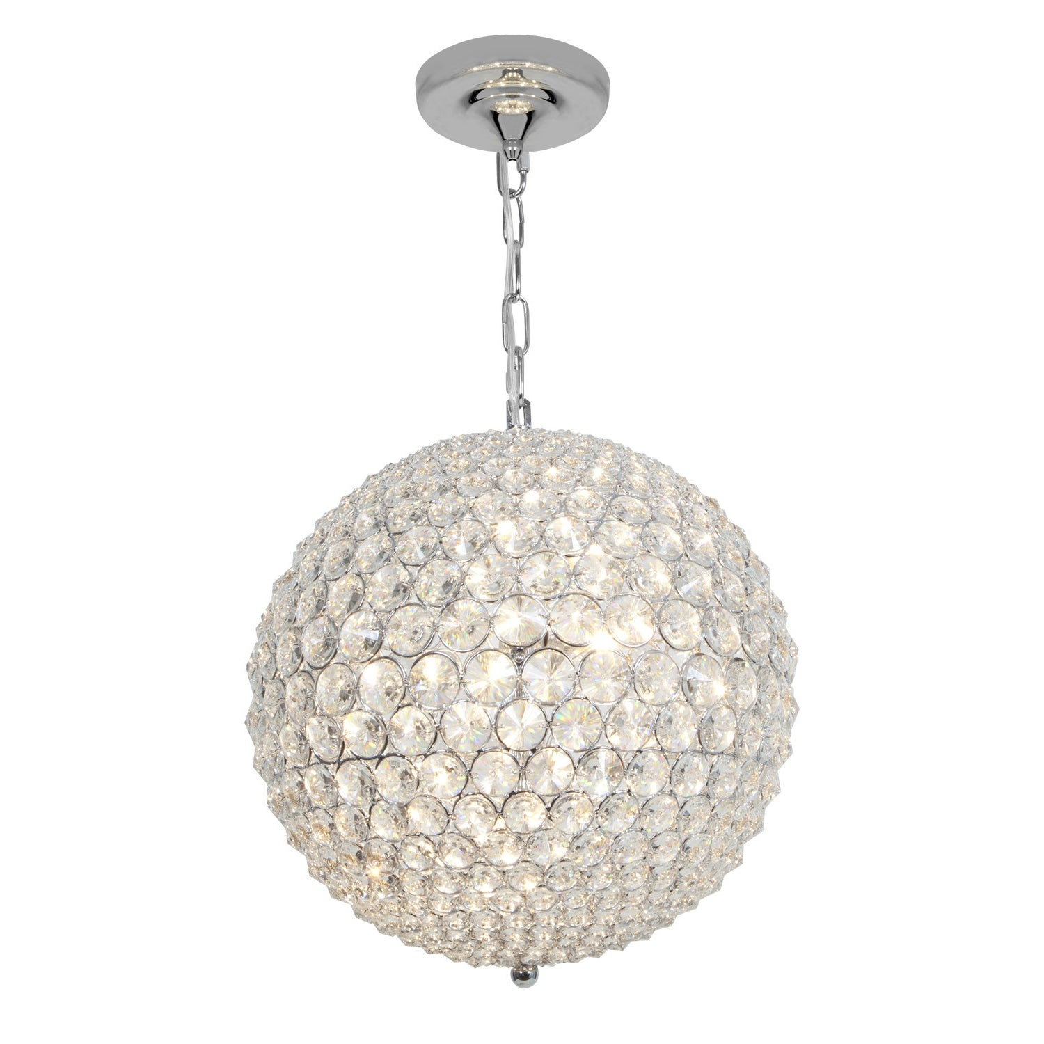 Access Kristal 5-light Chrome Ball Pendant