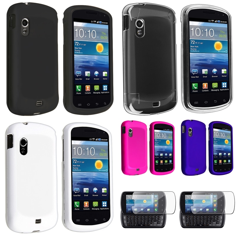 BasAcc Crystal/ Four Rubber Cases/ Protector for Samsung� Stratosphere i405