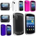 BasAcc Crystal/ Pink White Blue Rubber Cases/ Protector for Samsung� Stratosphere i405
