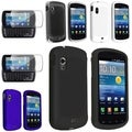 BasAcc Crystal/ Black White Blue Rubber Cases/ Two Protector for Samsung� Stratosphere i405