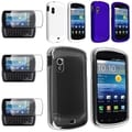 Blue/White BasAcc Crystal/ Rubber Case/ Protector for Samsung Stratosphere i405