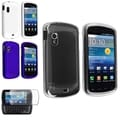 BasAcc Crystal/ Rubber Case/ Protector for Samsung� Stratosphere i405 White/Blue