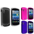 BasAcc Crystal/ Blue/ Pink Rubber Case for Samsung Stratosphere i405
