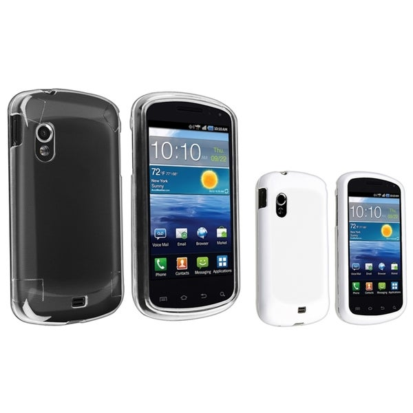 BasAcc Crystal/ White Rubber Case for Samsung© Stratosphere i405