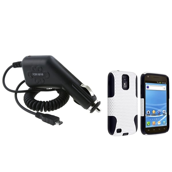 BasAcc Case/ Car Charger for Samsung© Galaxy S2 T-Mobile T989