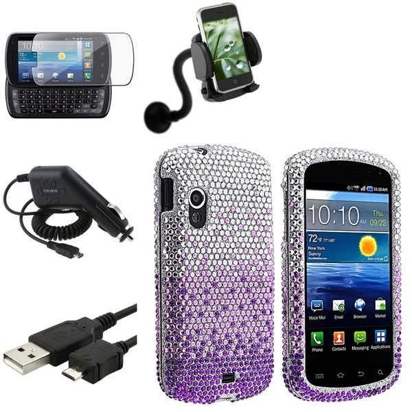 BasAcc Case/ Screen Protector/ Mount for Samsung© Stratosphere i405