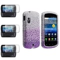 BasAcc Purple Case/ Screen Protector for Samsung Stratosphere i405