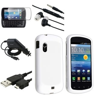 BasAcc Five-Piece Case/Screen Protector/Headset for Samsung Stratosphere i405