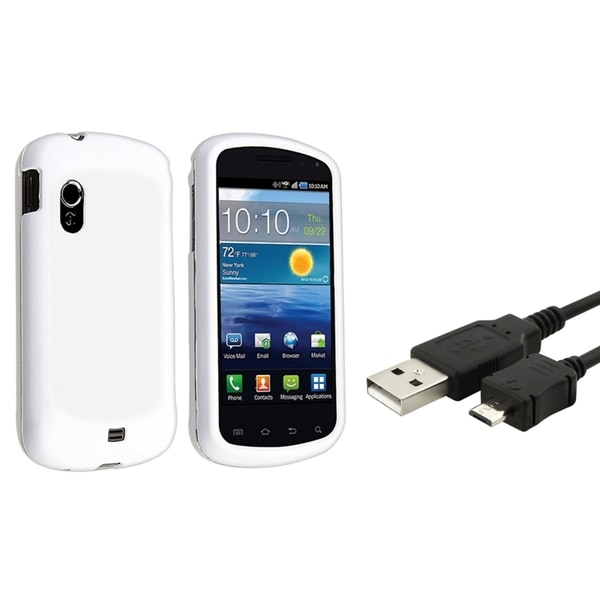 BasAcc Rubber Case/ USB Data Cable for Samsung© Stratosphere i405