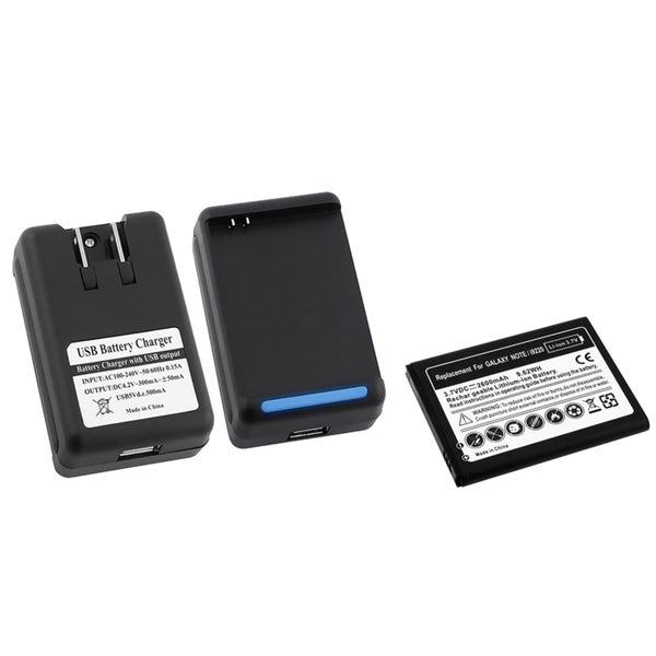 INSTEN Li-Ion Battery/ Desktop Charger for Samsung Galaxy Note N7000