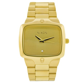 Nixon Men's Goldtone Player Watch