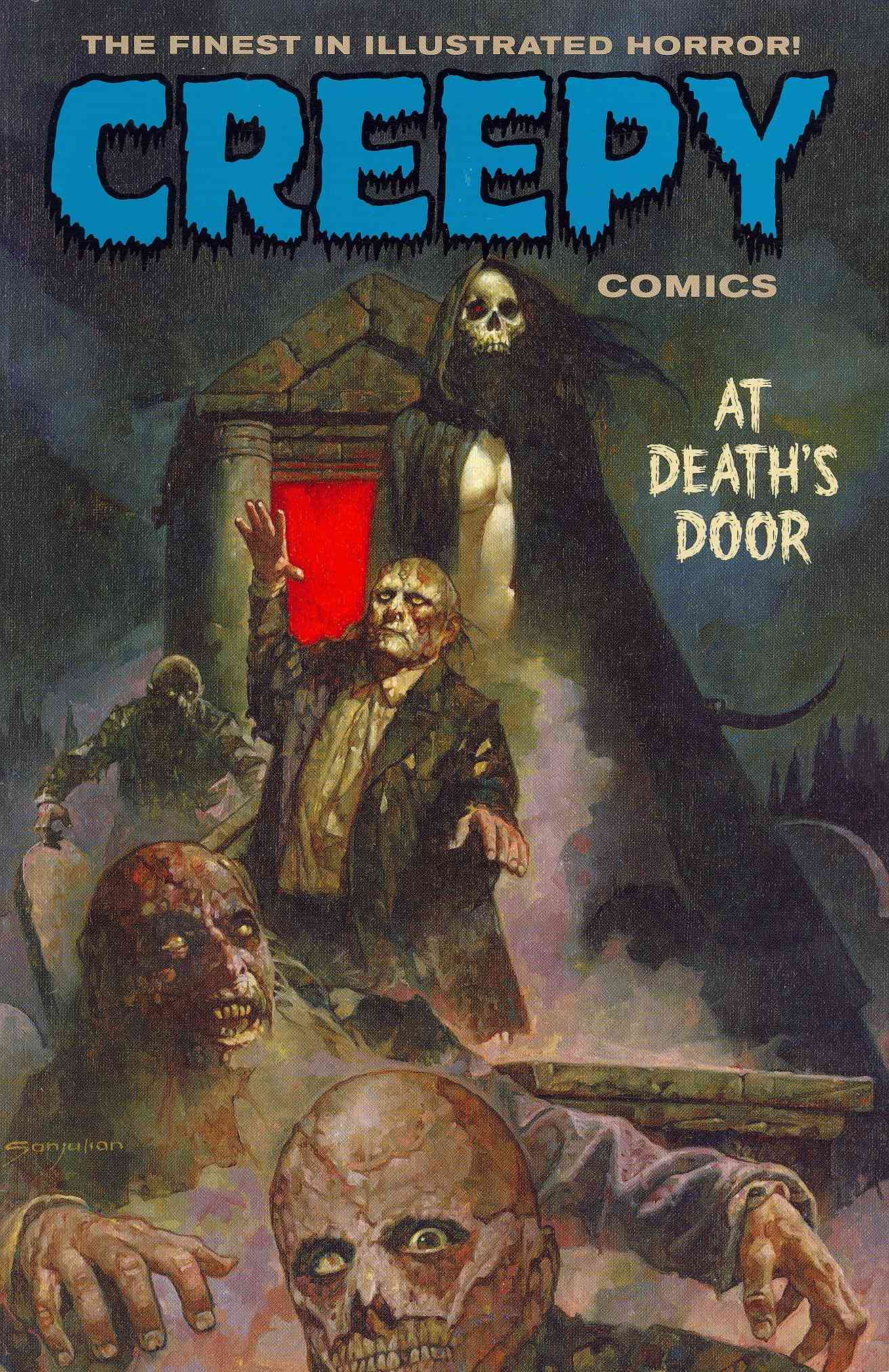 Creepy Comics: At Death's Door (Paperback)