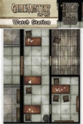 Pathfinder Flip-Mat: Watch Station (Game)
