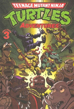 Teenage Mutant Ninja Turtles Adventures 3 (Paperback)