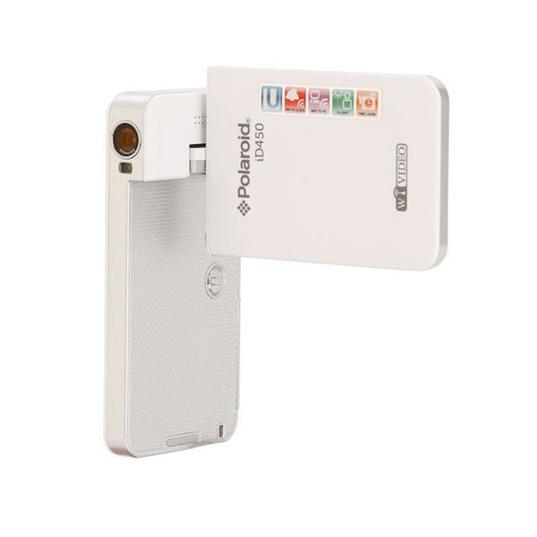 Polaroid ID450 White Wifi Digital Camcorder