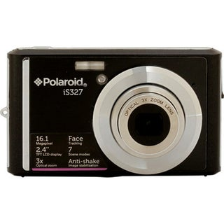 Polaroid iS327 16.1MP Black Digital Camera
