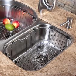 Kraus Stainless Steel Kitchen Sink Rinse Basket