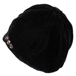 Journee Collection Women's Velvet Newsboy Hat