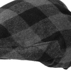 Boston Traveler Men's Plaid Ivy Flap Cap