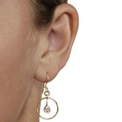 Goldfill Spiral Hoop Earrings