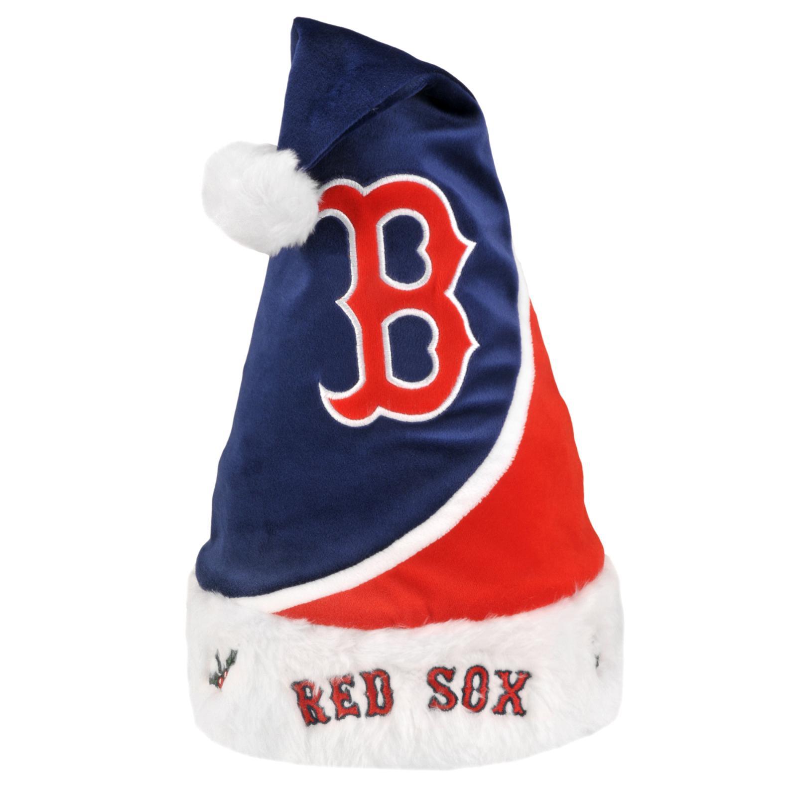Boston Red Sox Polyester Santa Hat