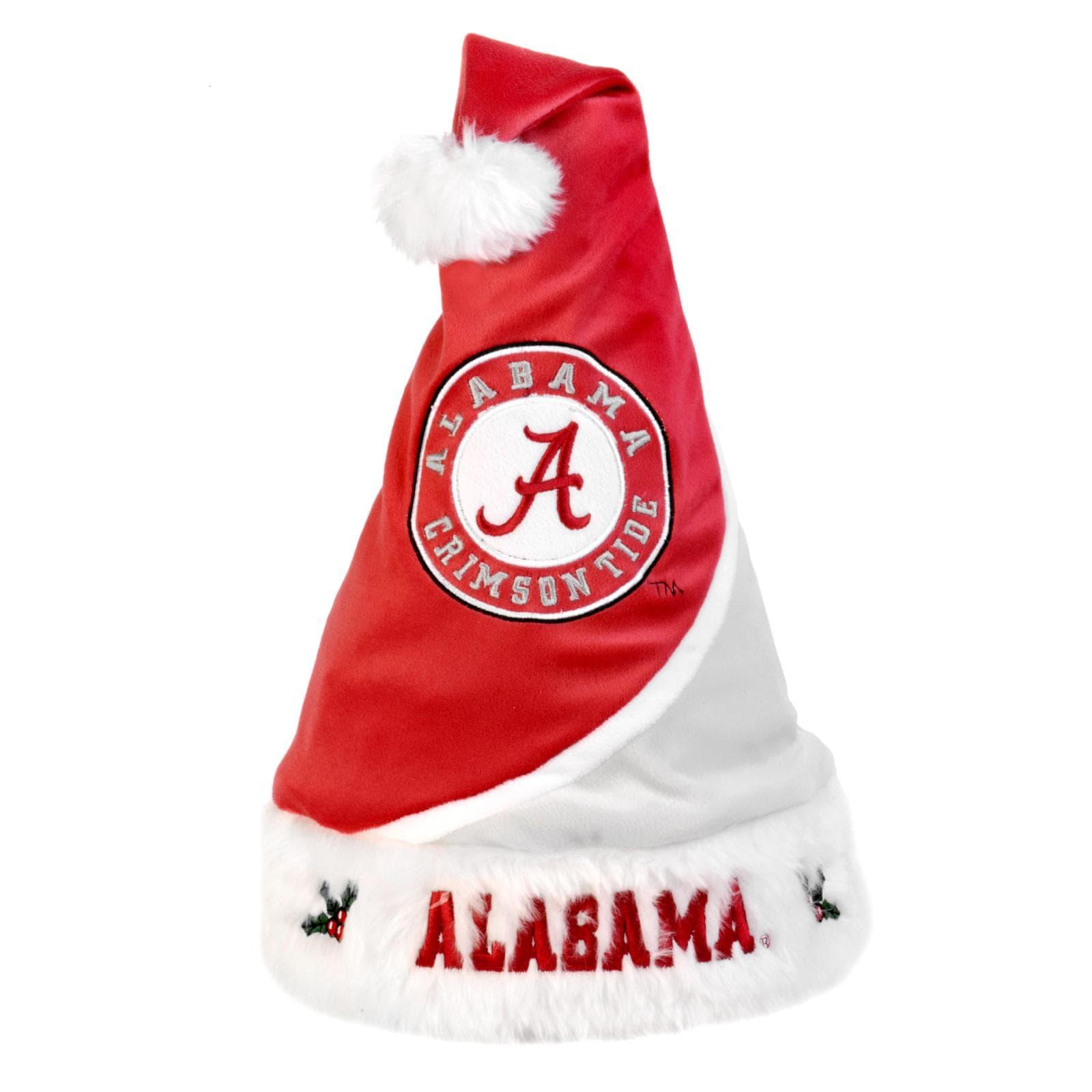 Alabama Crimson Tide Polyester Santa Hat