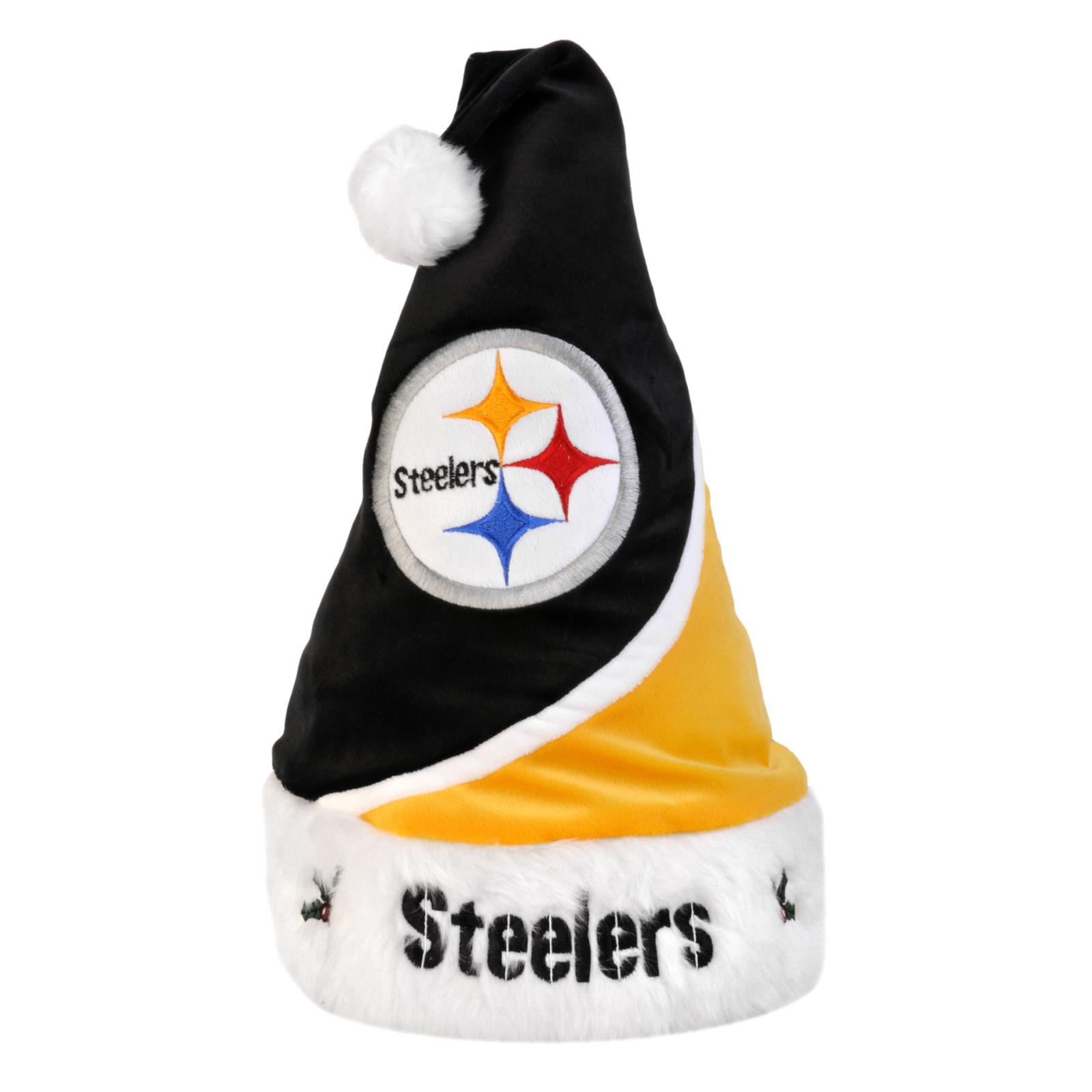 Pittsburgh Steelers Polyester Santa Hat