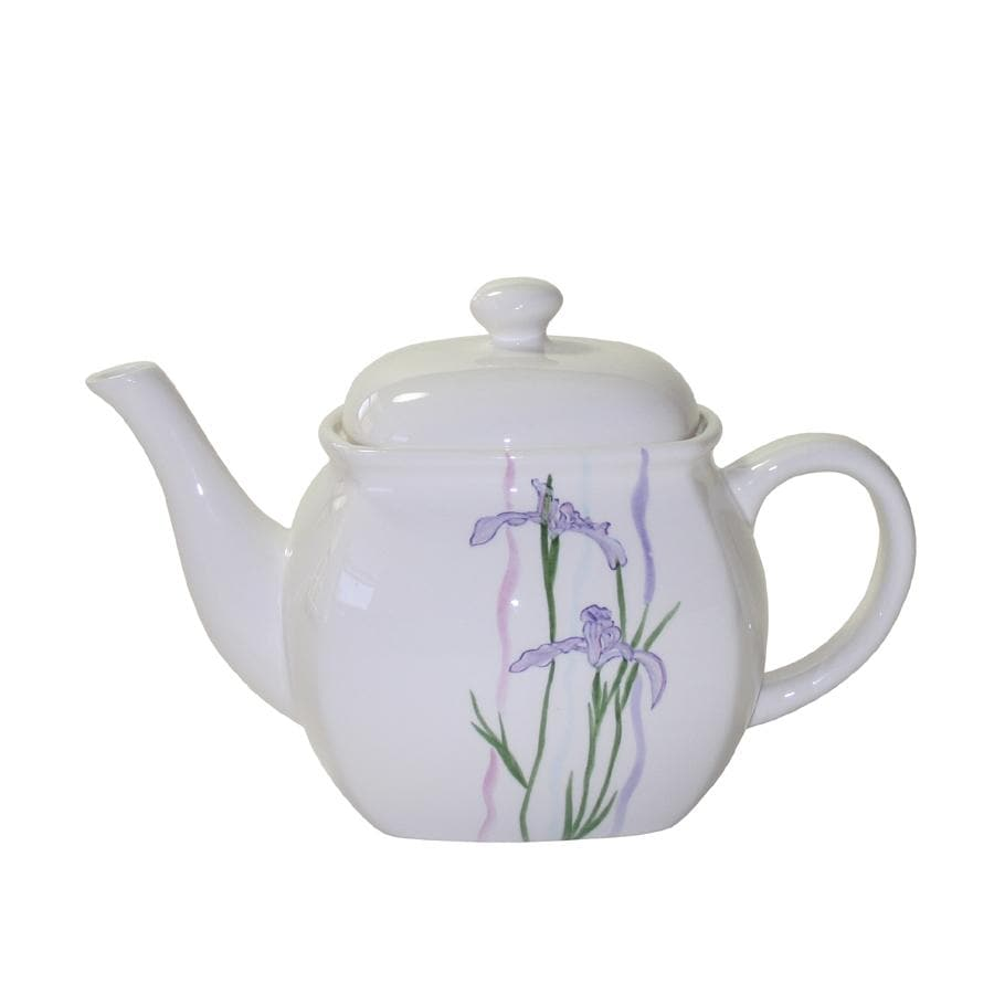 Corelle 'Shadow Iris' Teapot