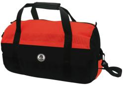 Stansport Red/Black 20 Inch Mesh Top Roll Bag