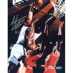 Steiner Sports John Starks Close up Dunk Photograph