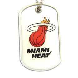 NBA Miami Heat Dog Tag Necklace
