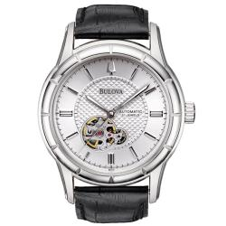 Bulova Men's 'BVA-Series 115' Stainless Steel Automatic Watch