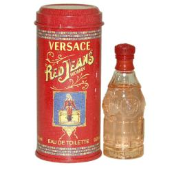 Versace 'Red Jeans' Women's 0.22-ounce Eau de Toilette Mini Splash
