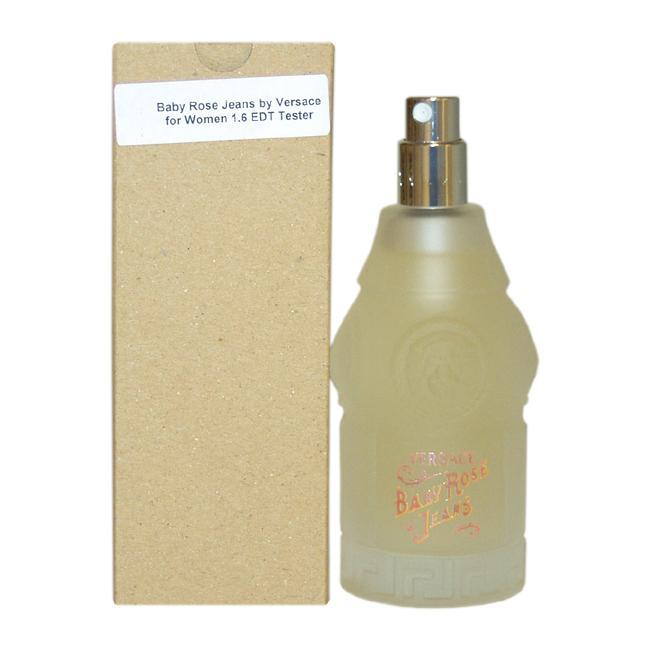 Versace 'Baby Rose Jeans' Women's 1.6-ounce Eau de Toilette (Tester) Spray