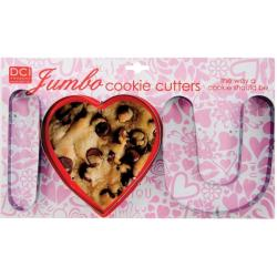 'I Love You' Jumbo Cookie Cutters